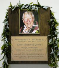 Bill Lane Jr plaque