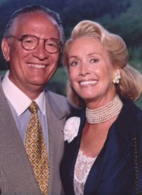 Image of Christopher Bagel Hemmer and wife