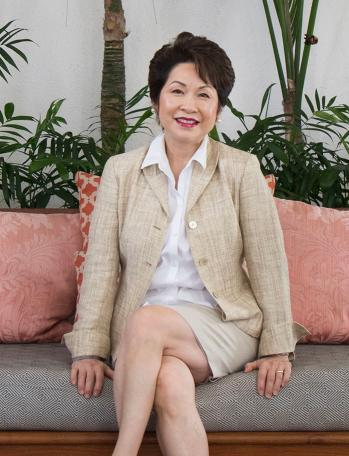 Vicky Cayetano President Ceo United Laundry Services Tim