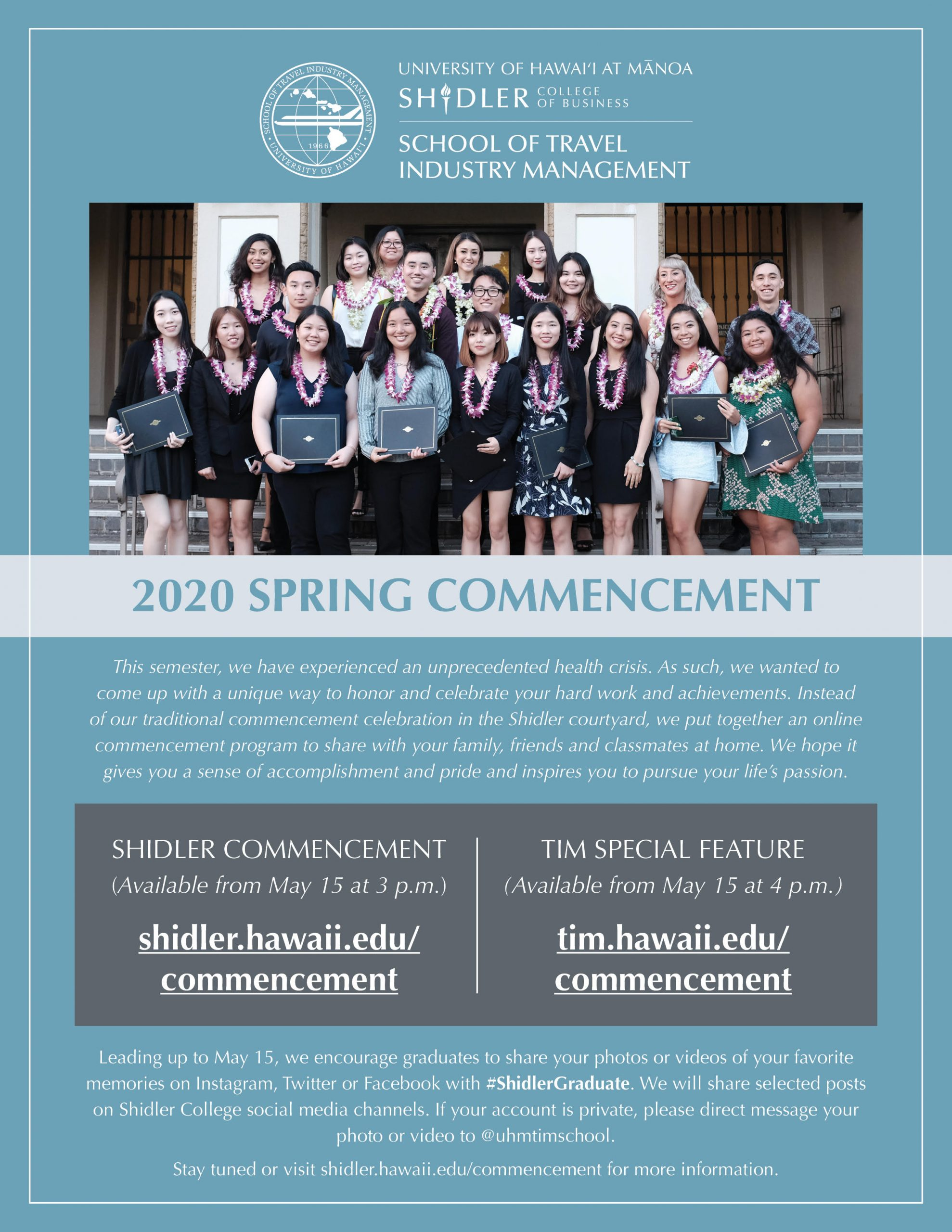 2020 Commencement Banner